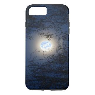 Gesegnete Jungfrau Mary im Mondlite-Wald iPhone 8 Plus/7 Plus Hülle