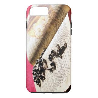 Gesegnetes Jungfrau-Mary-Bibel-Rosenbeet iPhone 8 Plus/7 Plus Hülle