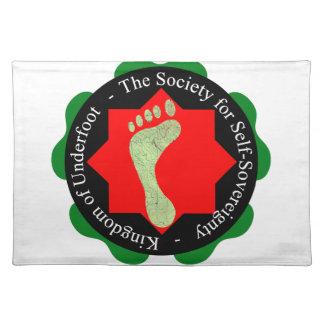 Gesellschaft der Selbst-Souveränität Tisch Sets