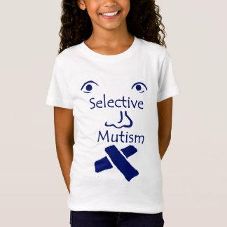 Gesicht des Mutismuslichtes T-Shirt