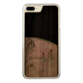 Gesicht-es Carved iPhone 8 Plus/7 Plus Hülle