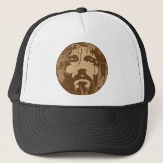 Gesicht von Jesus Truckerkappe