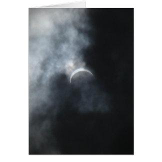 Gespenstische Eklipse-Sturm-Wolken 2017 Karte