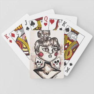 Gespenstische Karten Spielkarten