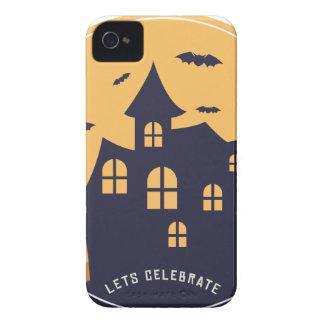 Gespenstische Villa und Schläger Halloweens iPhone 4 Hüllen