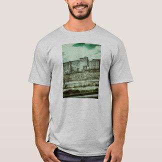 Gespenstischer alter Gefängnis-T - Shirt