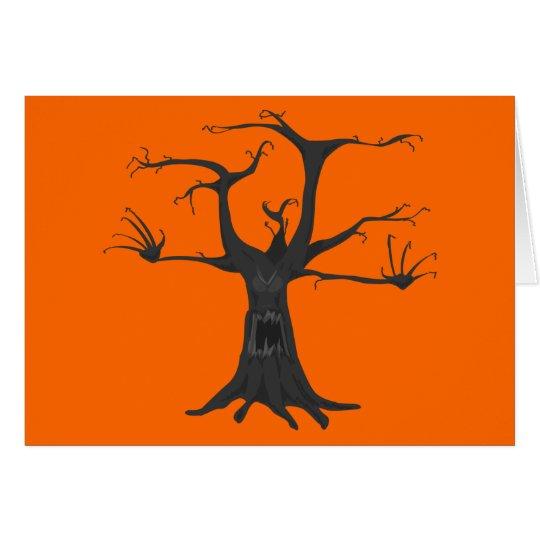 Gespenstischer Baum Karte