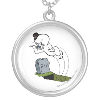 Gespenstischer Friedhof Versilberte Kette