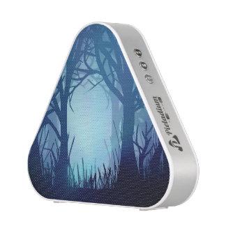 Gespenstischer Wald Bluetooth Lautsprecher