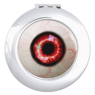 Gespenstisches Auge - Halloween Taschenspiegel