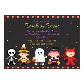 Gespenstisches Halloween-Party Karte