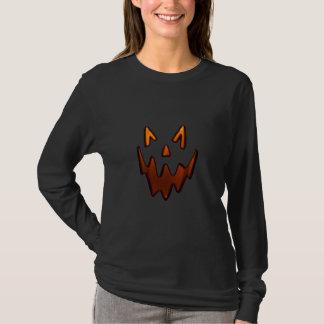 Gespenstisches Kürbis-T-Shirt T-Shirt