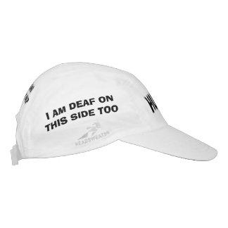 Gesponnener Leistungs-Hut, herum gedruckt alle Headsweats Kappe