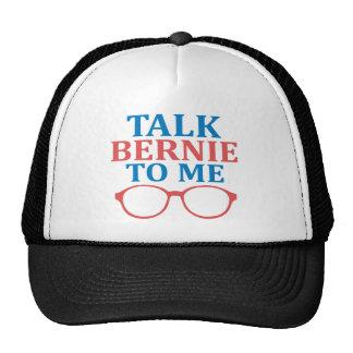 Gespräch Bernie zu mir Retromützen