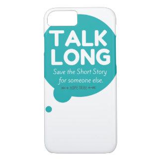 Gespräch lang - Gesundheits-Bewusstsein - iPhone iPhone 8/7 Hülle