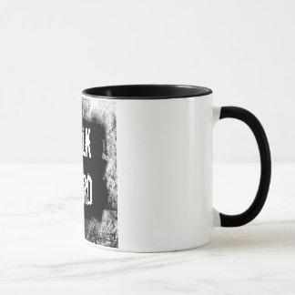 Gespräch stark! Pumpen Sie oben die Volumen Tasse
