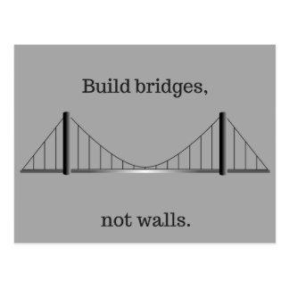 Gestaltbrücken, nicht Wände Postkarte