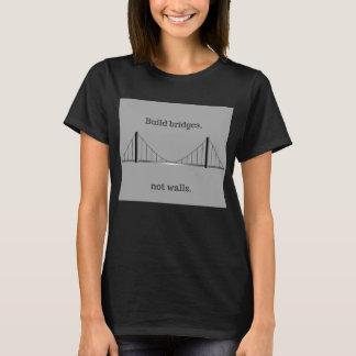 Gestaltbrücken, nicht Wände (Shirt) T-Shirt
