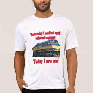 Gestern könnte ich Ingenieur nicht buchstabieren T-Shirt