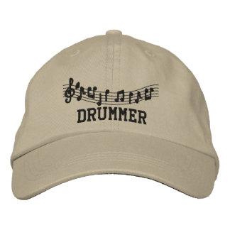 Gestickte Schlagzeuger-Kappe Bestickte Baseballkappen