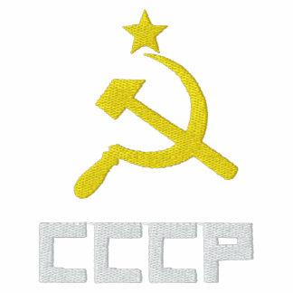 Gestickter CCCP Frauen-T - Shirt