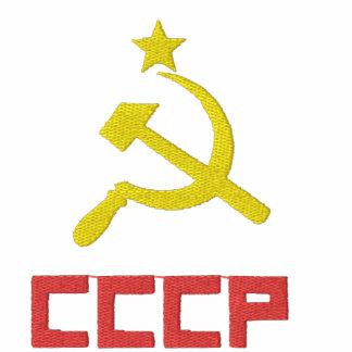 Gestickter CCCP T - Shirt
