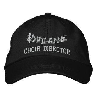 Gestickter Chor-Direktor Music Hat Cap Bestickte Baseballkappe