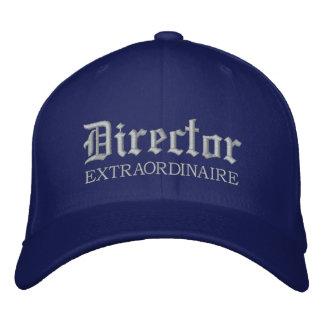 Gestickter Direktor Extraordinaire Music Cap Baseballcap
