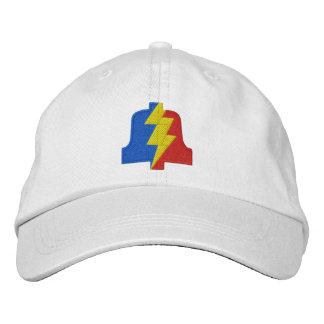 Gestickter Hut mit Winkel- des Leistungshebelslogo Bestickte Kappen