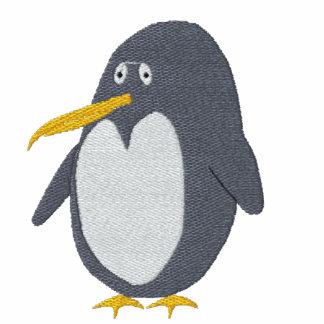 Gestickter Penguin-Frauen-T - Shirt
