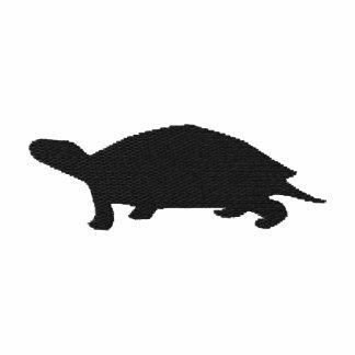 Gestickter Schildkröte-Frauen-T - Shirt