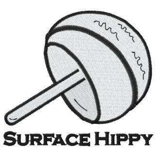 Gesticktes Hippy OberflächenShirt