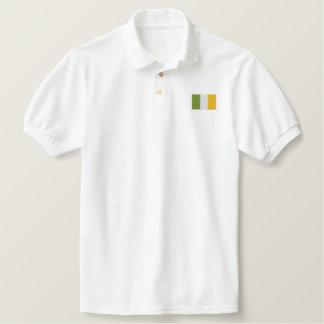Gesticktes Iren-Irland-Flaggen-Polo-Shirt Besticktes Polo