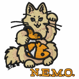 Gesticktes NEMO Polo-Shirt