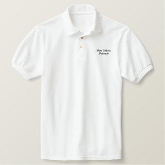 Gesticktes Polo-Shirt Fort Collins Colorado Besticktes Polo Hemd
