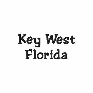 Gesticktes Polo-Shirt Key West Florida Polo Shirt
