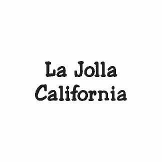 Gesticktes Polo-Shirt Las Jolla Kalifornien!!!