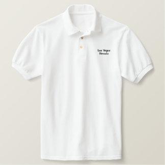 Gesticktes Polo-Shirt Las Vegas Nevada Bestickte Polos
