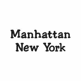 Gesticktes Polo-Shirt Manhattans New York NY Polo
