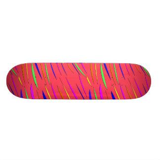 Gestreifter Skateboard-Entwurf Skate Board