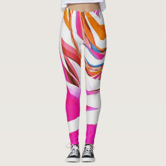 Gestreiftes LeggingsLeggings Leggings
