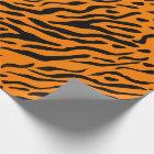 Gestreiftes Packpapier des Tigers - Geschenke für