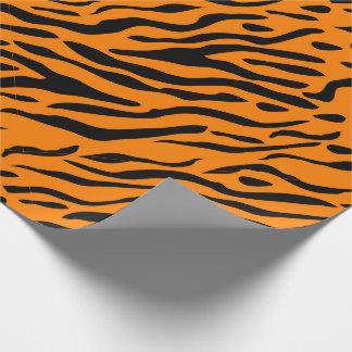 Gestreiftes Packpapier des Tigers - Geschenke für Geschenkpapierrolle