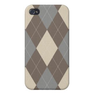 Gestrickter Art-Raute Iphone Kasten iPhone 4/4S Hüllen