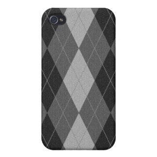 Gestrickter Art-Raute Iphone Kasten iPhone 4 Cover
