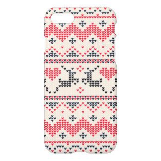 Gestricktes Winter-Weihnachtsmuster iPhone 8/7 Hülle