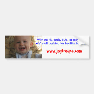 Gesunde Babys Autoaufkleber