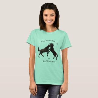 Gesunde Strecke für gesunde wilde Pferde T-Shirt