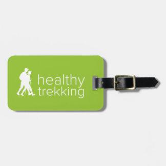 Gesunder Trekking Limoner grüner Gepäck-Umbau Kofferanhänger