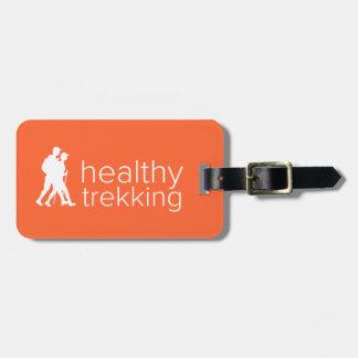 Gesunder Trekking Mandarine-Gepäck-Umbau Kofferanhänger